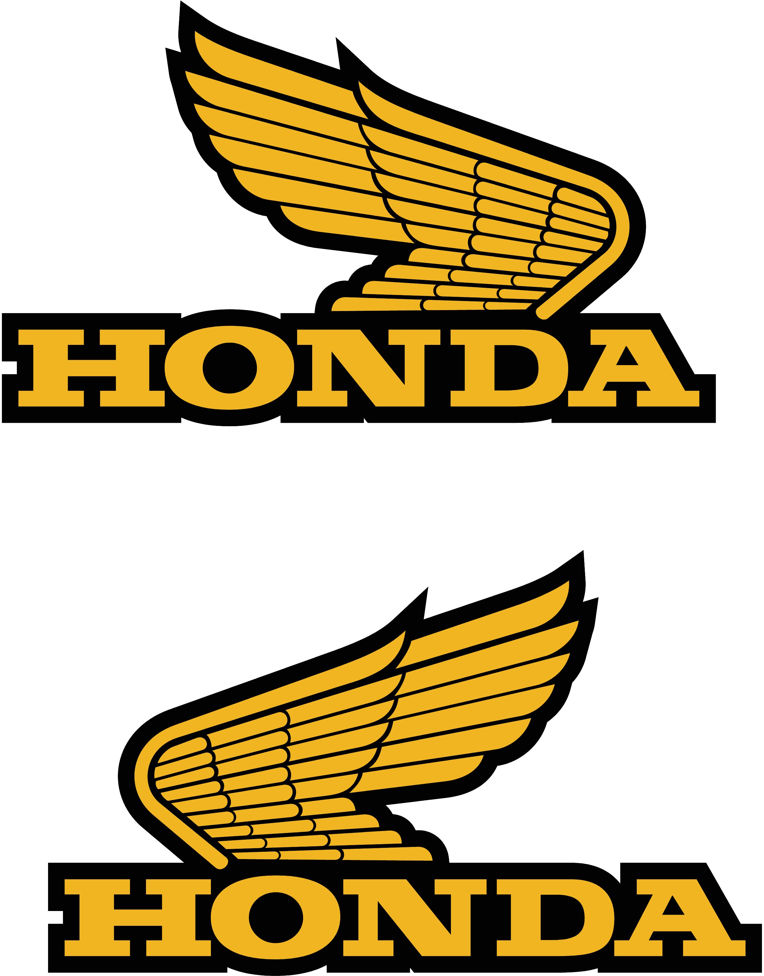 evoluci n e historia del logo de honda motocicletas the cubs rh pinterest com lego honda civic lego honda accord